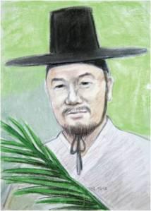 Beato Antonius  Jeong Chan-mun (Sumber: koreanmartyrs.or.kr)