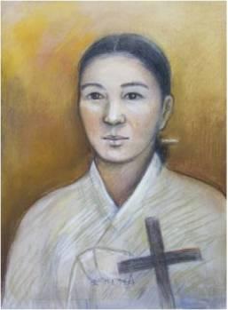 Beata Margaret Oh (Sumber: koreanmartyrs.or.kr)