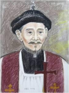 Beato Yakobus Zhou Wen-mo (Sumber: koreanmartyrs.or.kr)