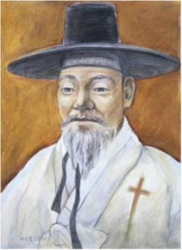 Beato Fransiskus Bae Gwan-gyeom (Sumber: koreanmartyrs.or.kr)