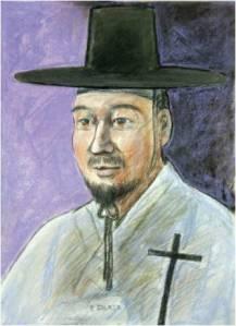 Beato Fransiskus Bang (Sumber: koreanmartyrs.or.kr)