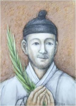 Beato Fransiskus Yi Bo-hyeon (Sumber: koreanmartyrs.or.kr)