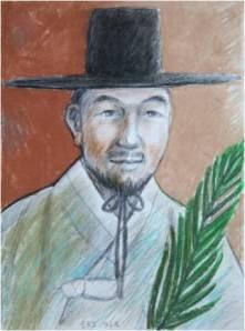 Beato Yakobus Yun Yu-o (Sumber: koreanmartyrs.or.kr)