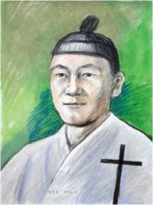 Beato Laurensius Pak Chwi-deuk (Sumber: koreanmartyrs.or.kr)