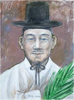 Beato Matias Choe In-gil (Sumber: koreanmartyrs.or.kr)