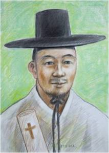 Beato Paulus Yun Yu-il (Sumber: koreanmartyrs.or.kr)