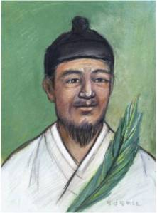 Beato Petrus Jeong San-pil (Sumber: koreanmartyrs.or.kr)