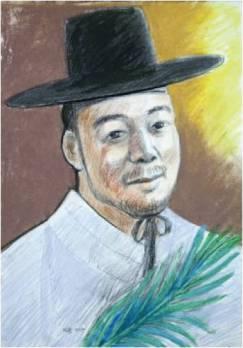 Beato Sabas Ji Hwang (Sumber: koreanmartyrs.or.kr)