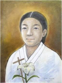 Beata Barbara Sim A-gi (Sumber: koreanmartyrs.or.kr)