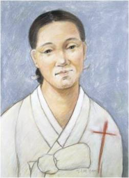 Beata Kandida Jeong Bok-hye (Sumber: koreanmartyrs.or.kr)