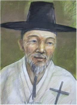 Beato Fransiskus Xaverius Hong Gyo-man (Sumber: koreanmartyrs.or.kr)