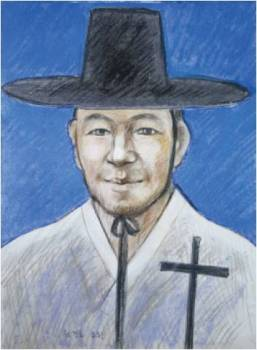 Beato Yohanes Won Gyeong-do (Sumber: koreanmartyrs.or.kr)
