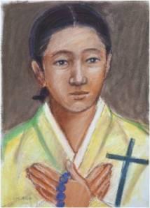 Beata Lusia Yun Un-hye (Sumber: koreanmartyrs.or.kr)