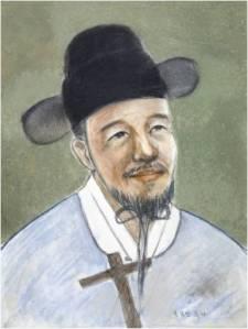 Beato Lukas Hong Nak-min (Sumber: koreanmartyrs.or.kr)