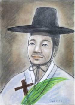 Beato Petrus Choe Pil-je (Sumber: koreanmartyrs.or.kr)