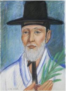 Andreas Kim Gwang-ok (Sumber: koreanmartyrs.or.kr)