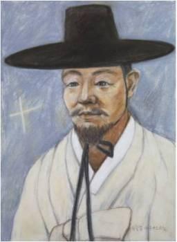 Beato Agustinus Yu Hang-geom (Sumber: koreanmartyrs.or.kr)