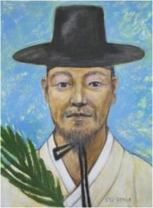 Beato Fransiskus Kim Jong-gyo (Sumber: koreanmartyrs.or.kr)