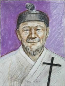 Beato Fransiskus Kim Sa-jip (Sumber: koreanmartyrs.or.kr)