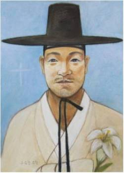 Beato Yohanes Yu Jung-cheol (Sumber: koreanmartyrs.or.kr)
