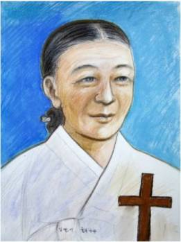 Beata Yuliana Kim Yeon-i (Sumber: koreanmartyrs.or.kr)