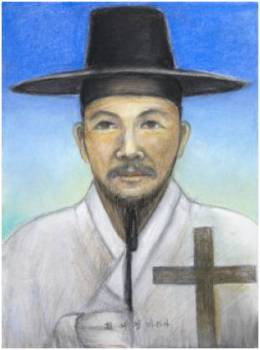 Beato Matias Choe Yeo-gyeom (Sumber: koreanmartyrs.or.kr)