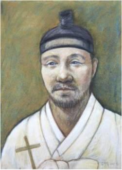 Beato Petrus Kim Jeong-deuk (Sumber: koreanmartyrs.or.kr)