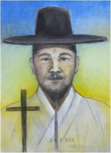 Beato Filipus Hong Pil-ju (Sumber: koreanmartyrs.or.kr)