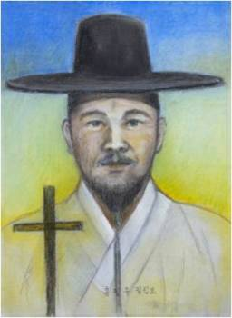 Beato Filipus Hong Pil-­ju (Sumber: koreanmartyrs.or.kr)