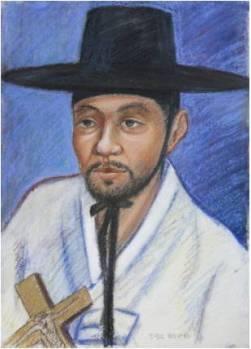 Beato Barnabas Jeong Gwang-su (Sumber: koreanmartyrs.or.kr)