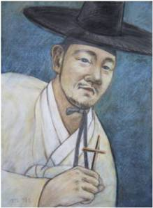 Beato Karolus Yi Gyeong-do (Sumber: koreanmartyrs.or.kr)