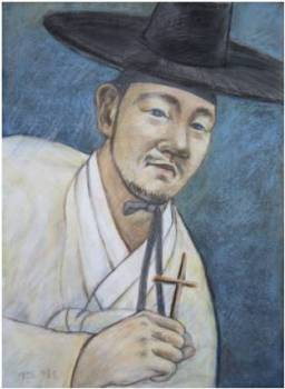 Beato Karolus Yi Gyeong-do (Sumber: koreanmartyrs.or.kr)