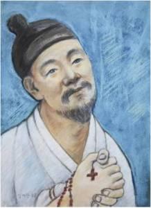 Beato Simon Kim Gye-wan (Sumber: koreanmartyrs.or.kr)