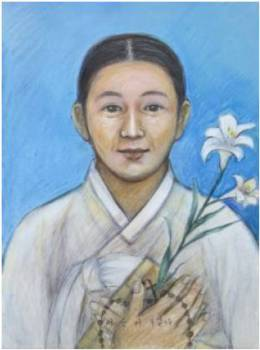 Beata Lutgardis Yi Sun-i (Sumber: koreanmartyrs.or.kr)
