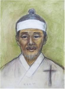 Beato Simon Hwang Il-gwang (Sumber: koreanmartyrs.or.kr)