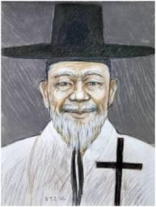 Beato Pius Kim Jin-hu (Sumber: koreanmartyrs.or.kr)