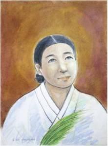 Beata Anastasia Kim Jo-i (Sumber: koreanmartyrs.or.kr)