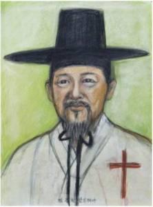 Beato Andreas Kim Jong-han (Sumber: koreanmartyrs.or.kr)