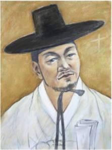 Beato Andreas Kim Sa-geon (Sumber: koreanmartyrs.or.kr)