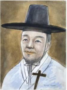 Beato Andreas Pak Sa-ui (Sumber: koreanmartyrs.or.kr)