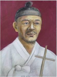 Beato Paulus Jeong Tae-bong (Sumber: koreanmartyrs.or.kr)