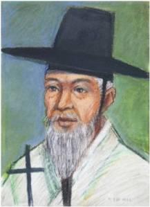 Beato Paulus Pak Gyeong-hwa (Sumber: koreanmartyrs.or.kr)
