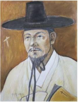 Beato Richard An Gun-sim (Sumber: koreanmartyrs.or.kr)