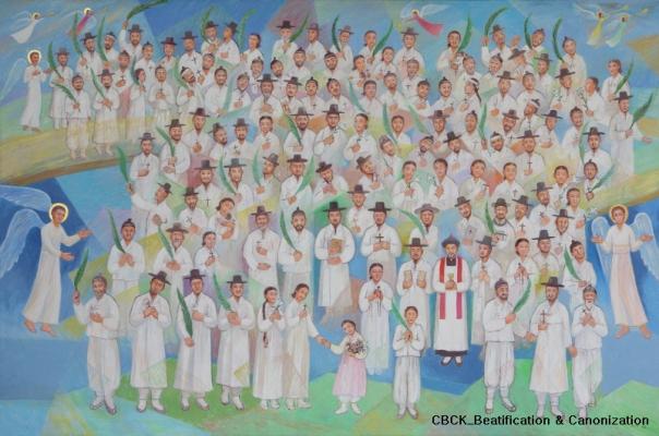 124 Martir dari Korea (sumber: koreanmartyrs.or.kr)
