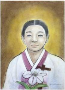 Beata Anastasia Yi Bong-geum (Sumber: koreanmartyrs.or.kr)