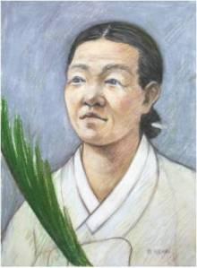 Beata Brigita Choe (Sumber: koreanmartyrs.or.kr)