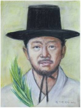 Beato Felix Petrus Kim Gi-ryang (Sumber: koreanmartyrs.or.kr)