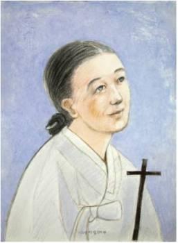 Beata Magdalena Yi Jo-i (Sumber: koreanmartyrs.or.kr)
