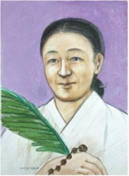 Beata Maria Yi Seong-rye (Sumber: koreanmartyrs.or.kr)