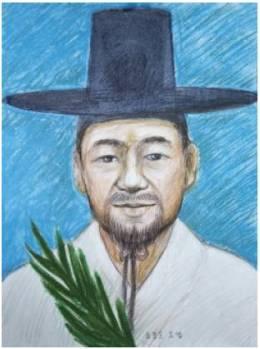 Beato Yosef/Petrus Yun Bong-mun (Sumber: koreanmartyrs.or.kr)